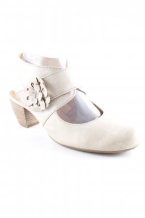 Gabor Slingback-Pumps hellbeige Casual-Look
