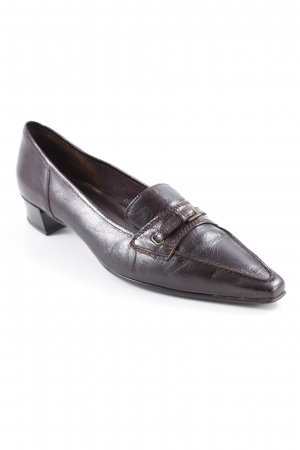 Gabor Slippers brown-black brown business style
