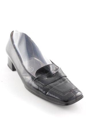 Gabor Pantoffels zwart bruin zakelijke stijl