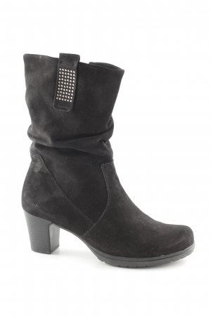 Gabor Slouch Booties black casual look