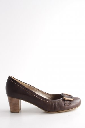 Gabor Backless Pumps brown casual look