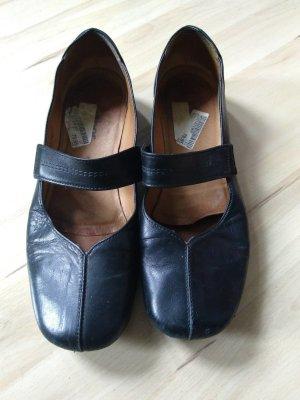 Gabor Zapatos Mary Jane negro Cuero