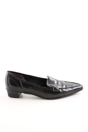 Gabor Spitz-Pumps schwarz extravaganter Stil