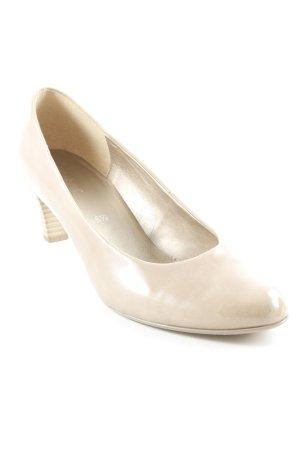 Gabor Spitz-Pumps beige Elegant