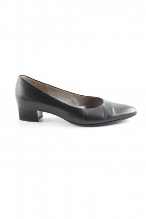 Gabor Spitz-Pumps schwarz Business-Look