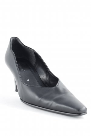 Gabor Spitz-Pumps schwarz Casual-Look