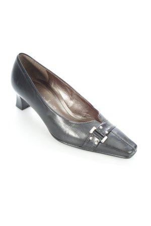 Gabor Spitz-Pumps schwarz klassischer Stil