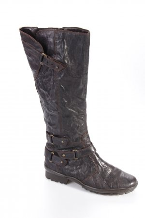 Gabor Boots black brown buckles