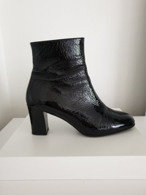 Gabor Heel Boots black leather