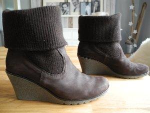 GABOR Stiefelette Boots Keilstiefelette Gr. 38,5 - 5,5 - 5 1/2