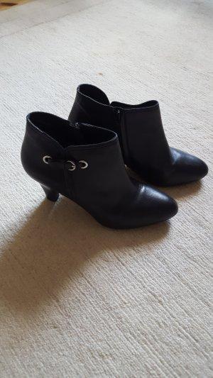 Gabor High Heel Sandal black-silver-colored