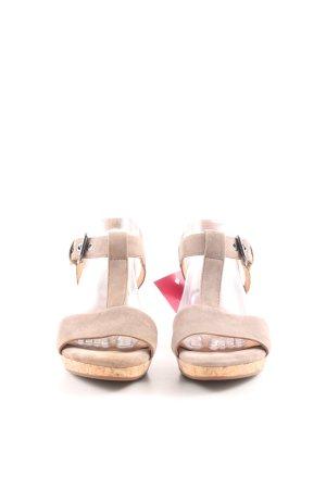 Gabor T-Steg-Sandaletten nude Casual-Look