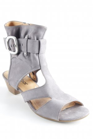 Gabor T-Steg-Sandaletten grau Casual-Look