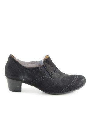 Gabor Loafers zwart zakelijke stijl