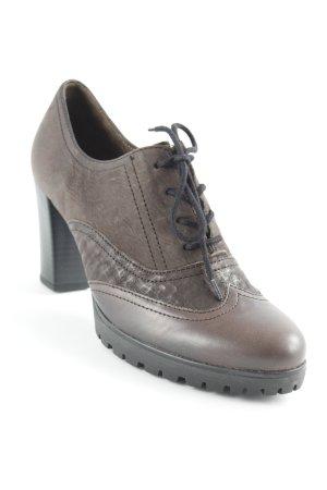 Gabor Zapatos Informales marrón oscuro look casual