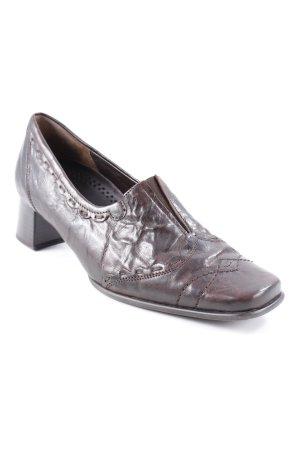 Gabor Loafers donkerbruin elegant