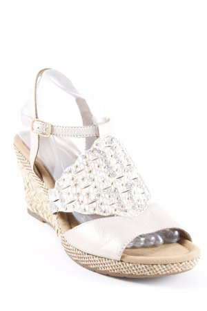 Gabor Wedges Sandaletten mehrfarbig Party-Look