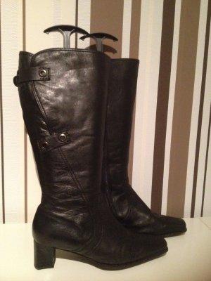 Gabor Wide Calf Boots black