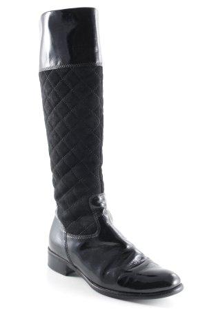 Gabor Winterstiefel schwarz Steppmuster klassischer Stil