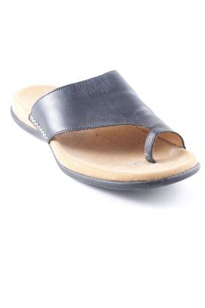Gabor High-Heeled Toe-Post Sandals black simple style