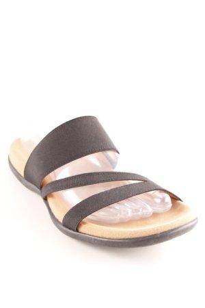 Gabor Toe-Post sandals black casual look