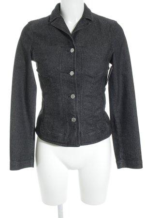 Gabriele Strehle Jeans Jeansjacke schwarz Casual-Look