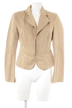 Gabriele Strehle Jeans Kurz-Blazer beige Casual-Look