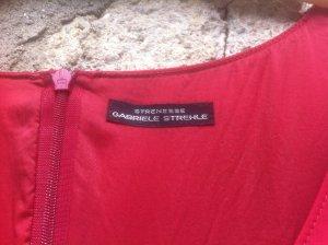 Strenesse Robe crayon rouge foncé