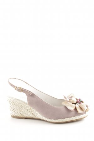 Gabriele Wedges Sandaletten pink Casual-Look