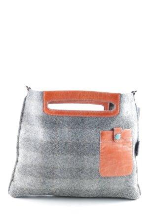 Gabs Borsa a spalla grigio chiaro-arancione scuro stile casual