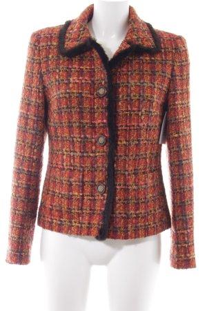 Gaddis Giacca di lana multicolore stile casual