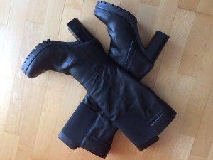 Gadea Stiefel Leder schwarz Größe 40 neu