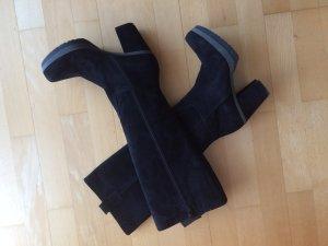 Gadea Stiefel neu Leder schwarz Größe 35