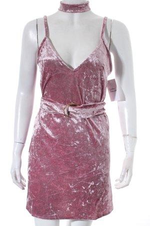 Gagaopt Camisole rosé Samt-Optik