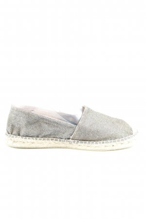 Gaimo Espadrilles Espadrille Sandals silver-colored-gold-colored beach look