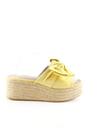 Gaimo Espadrilles Wedge Sandals primrose-cream casual look
