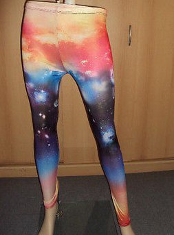 GALAXIE LEGGINGS NEU * ONESIZE