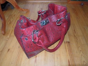Carry Bag dark red