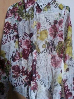 GALLIANO Bluse  Mehrfarbig Damen Oberteil Blouse