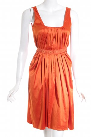 Galliano Cocktailjurk oranje elegant