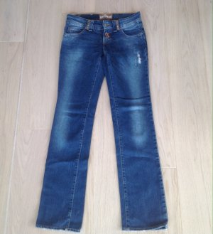 John Galliano Low Rise Jeans blue