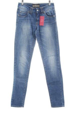 Galliano Hüftjeans kornblumenblau Jeans-Optik