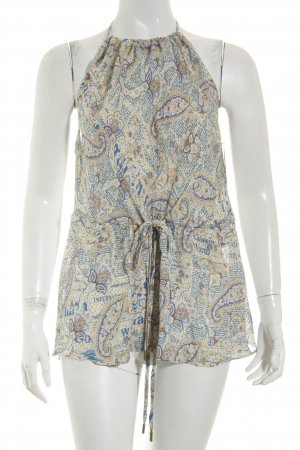 Galliano Halter Top paisley pattern elegant