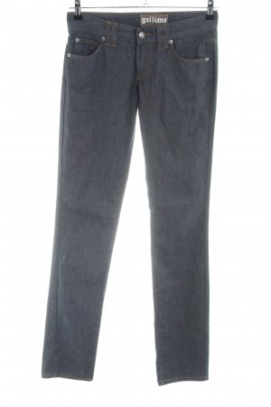 Galliano Skinny Jeans hellgrau Casual-Look
