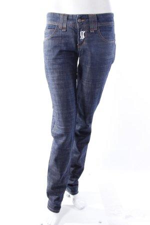 Galliano Skinny Jeans dunkelblau
