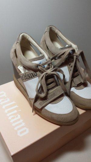 Galliano sneaker mit Absatz