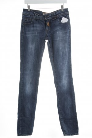 "Galliano Straight-Leg Jeans ""Ittiere"" blau"