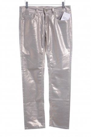 Galliano Stretch jeans room-nude casual uitstraling