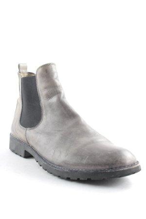 gallucci Chelsea Boot noir-vert foncé style classique