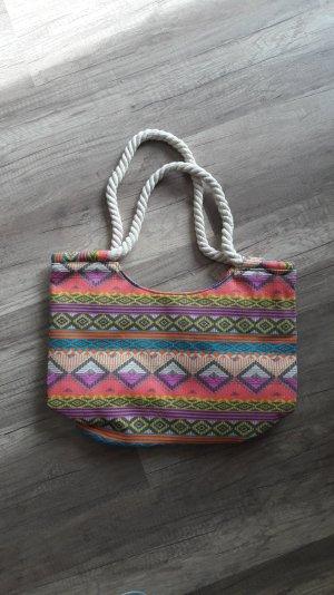 Gamiss Tasche Shopper Strandtasche Ikat Hippie Boho Aztek Indie Ethno